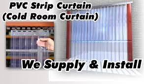 Pvc Strip Curtains Are Made From Specially Developed Material Which Offers A Cost Effective And Simple Way To Control Temperature Humidity Also